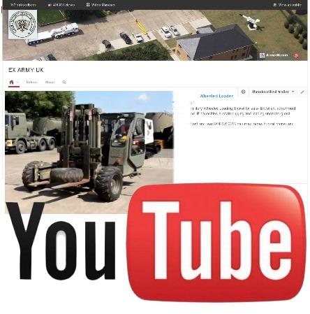 Watch our latest video on YouTube of the Moffett Mounty M2275 military forklift