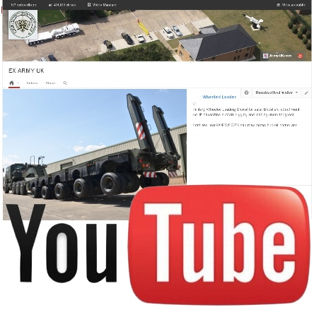 Watch our latest video on YouTube of the M1000 (HETS), 40-wheels Semi-trailer