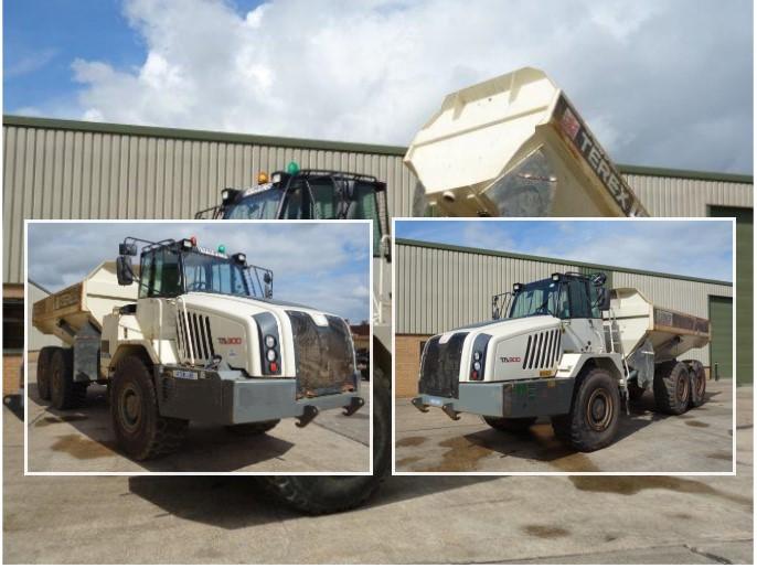Just arrived 3x Terex TA300 6x6 Dumpers
