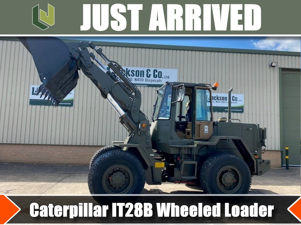 JUST ARRIVED Caterpillar IT28B Wheeled Loader