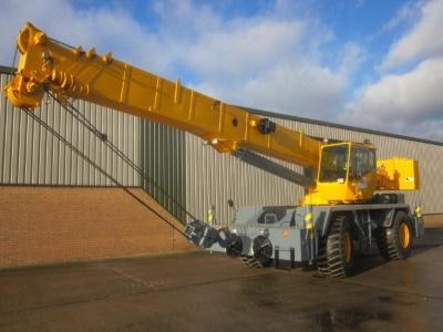 Latest arrivals the Grove RT600 E Rough Terrain Crane