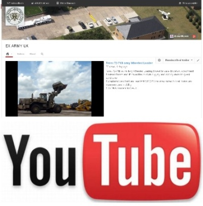 Watch our latest video on YouTube of the Terex 72-71B army Wheeled Loader