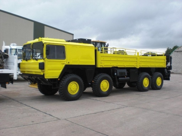 Man 464 8x8 Drop Side Cargo Truck For Africa Used Ex