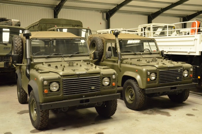 Ex Army Land Rover Defender 90 For Sale Land Rover