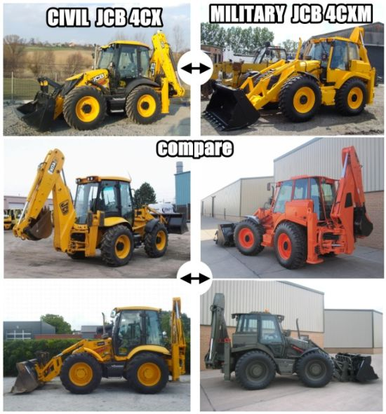 JCB 4CX  AND JCB 4CXM
