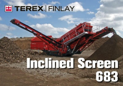 Latest arrivals....Terex Finlay 683 Screener