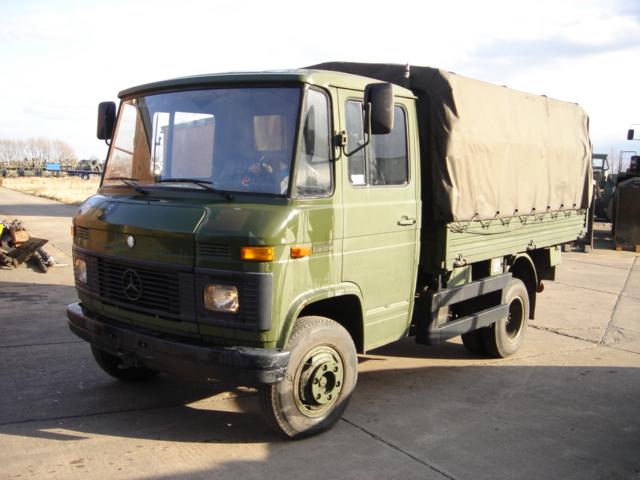 Mercedes 508D cargo truck>> Clearance SALE