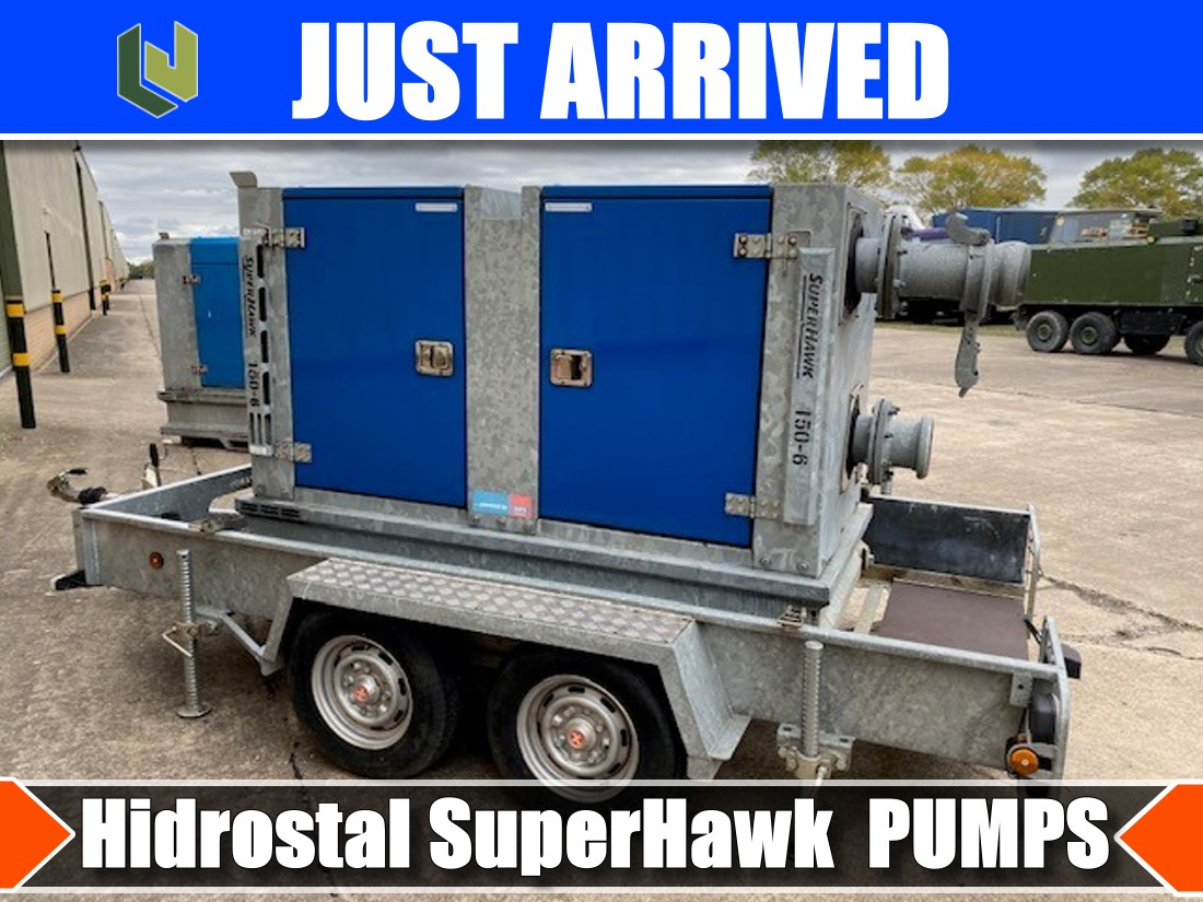 just arrived  Hidrostal SuperHawk 3 water pumps