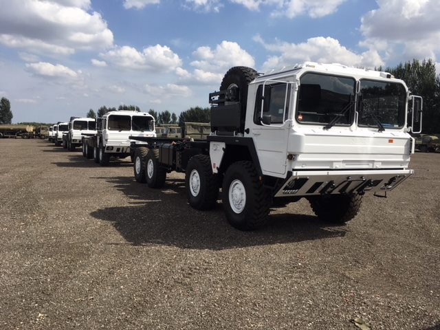 Ex military vehicles for the United Nations