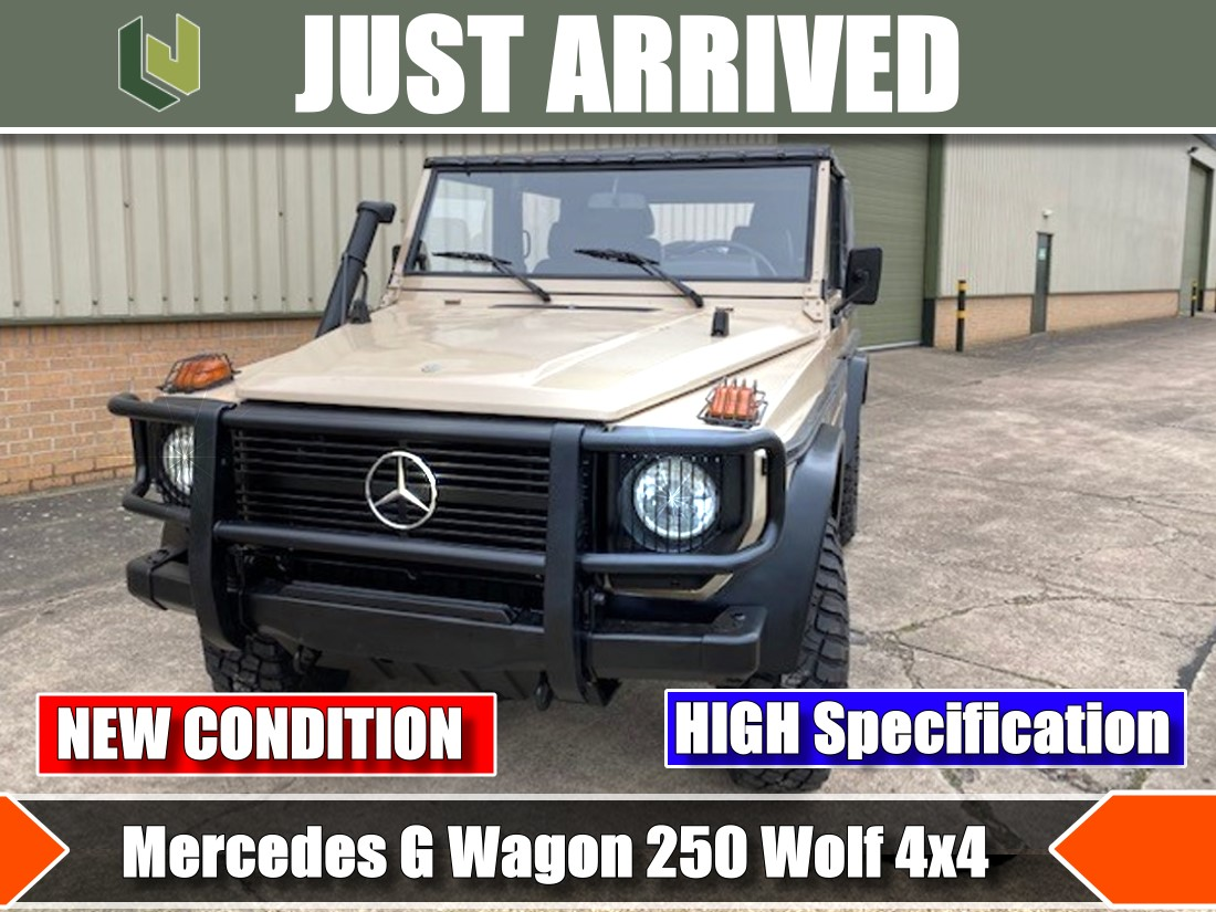Just arrived Rare Mercedes G Wagon 250 Wolf