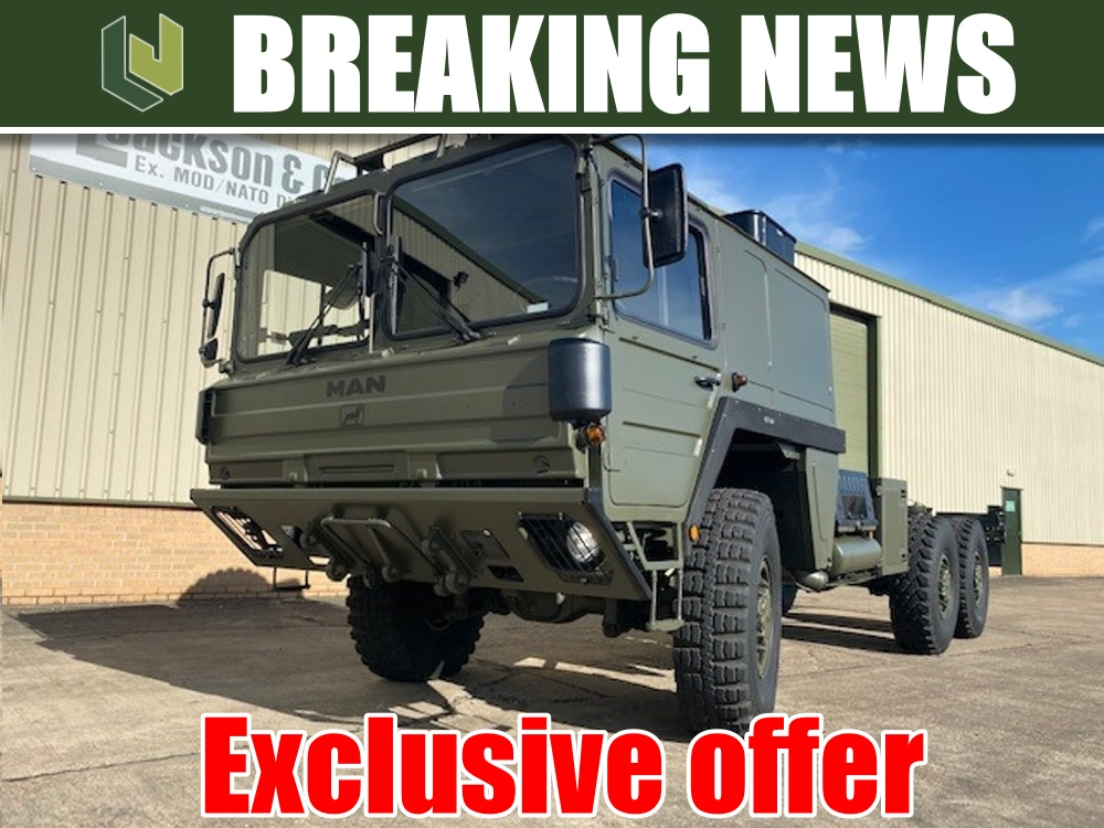 Exclusive offer. Military MAN CAT A1 6x6 trucks