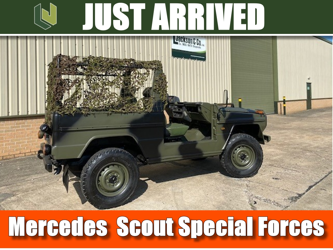 Just arrived  Mercedes GWagon 240 Scout Special Forces