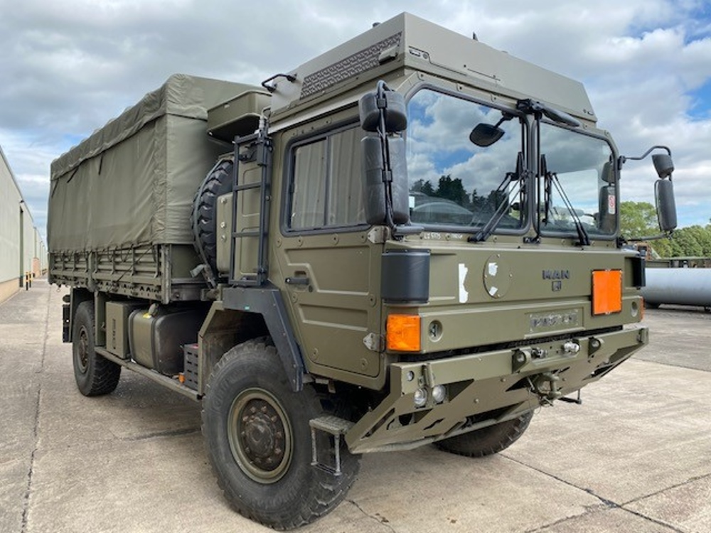 Just arrived  50 Used MAN HX60 18.330 4x4