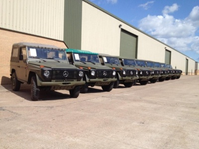 Mercedes G Wagons for the United States