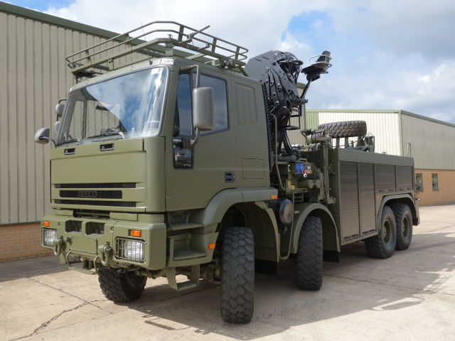 Just arrived 2x Iveco 410E42 8x8 recovery trucks