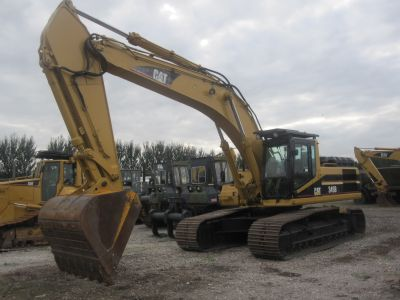 Caterpillar Tracked Excavator 345 BL NOW IN STOCK