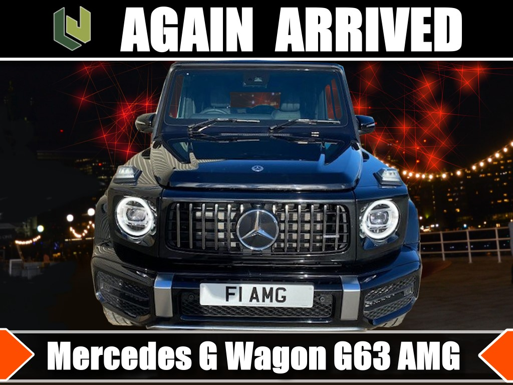 Again arrived Mercedes G Wagon G63 AMG