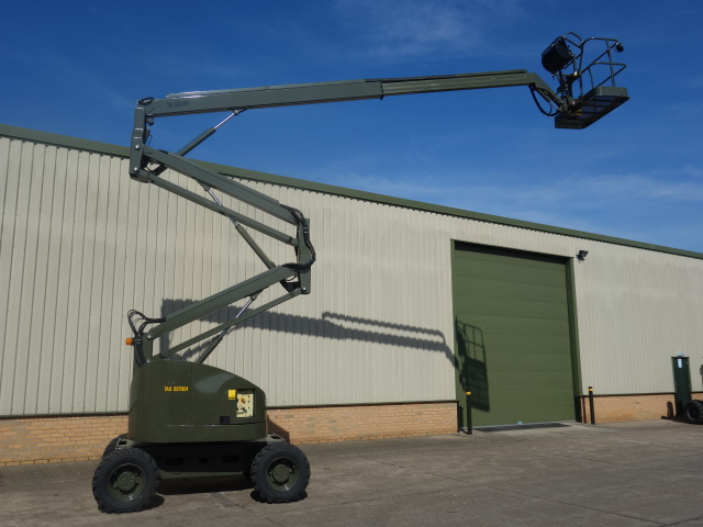 Just arrived 6 used Terex TA50RT rough terrain 4x4 boom lifts