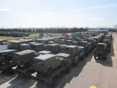 Sale of 150 vehicles to an overseas customer