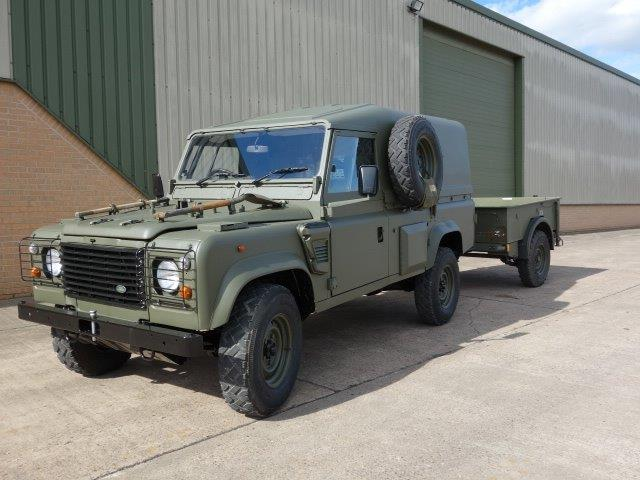 Just arrived Land Rover Defender Wolf 110 (REMUS upgrade)