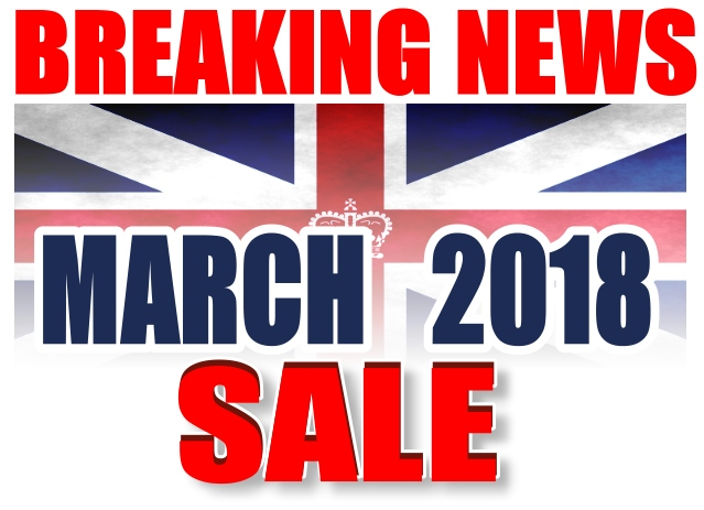 MOD/ NATO Disposals | MARCH 2018 SALE
