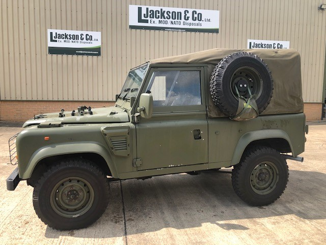 Just come two Land Rover Defenders 90 Wolf RHD Soft Top (Remus) 4x4