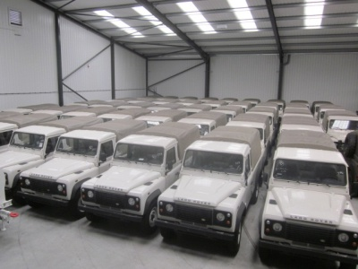 NEW Land Rover`s Pickups for sale