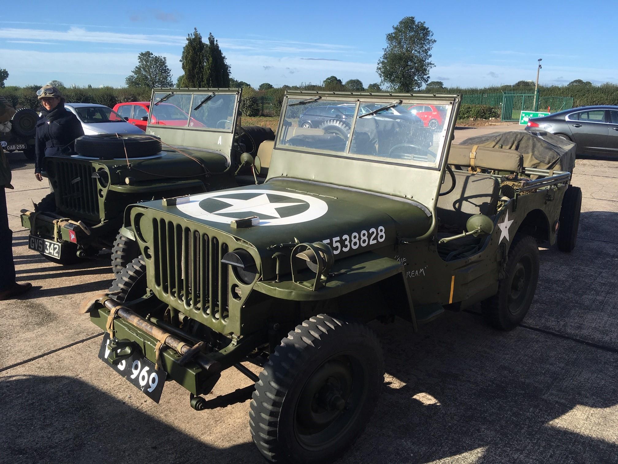 original Willy`s Jeeps