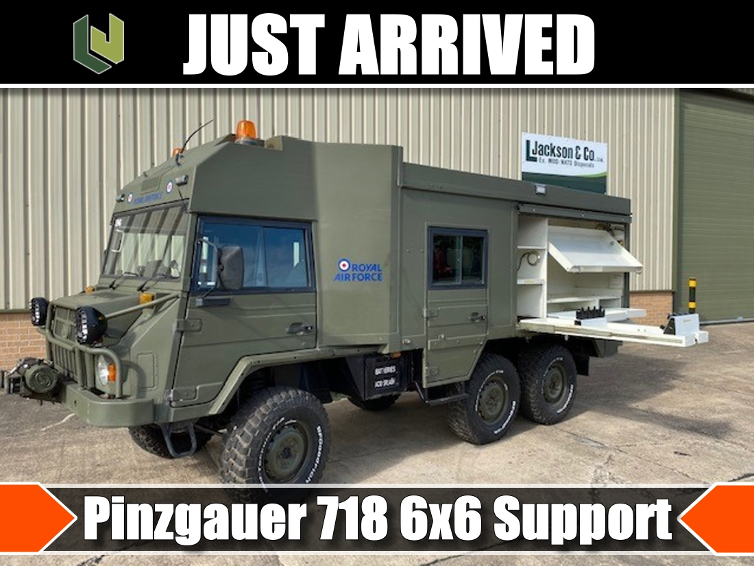 Just arrived Pinzgauer 718 6x6 Support Vehicle