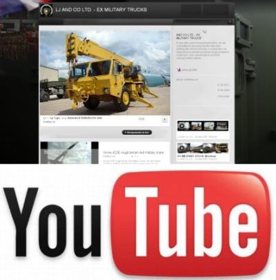 Grove 315M 4x4 military crane > NEW VIDEO