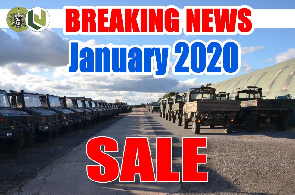 January 2020 MOD/ NATO Disposals ..