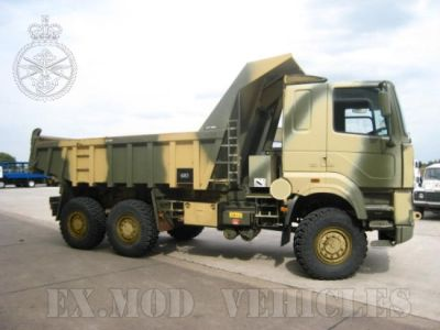 Foden 6x6 military dump trucks. Latest arrivals