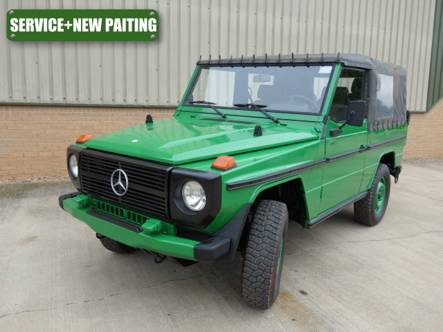 Was sold Mercedes Benz 250GD wolf with service and new paitingThis car ...