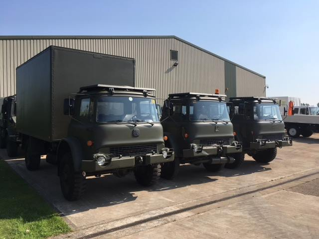 Last of our Bedford MJ`s made ready for a customer Used ex army truck for sale