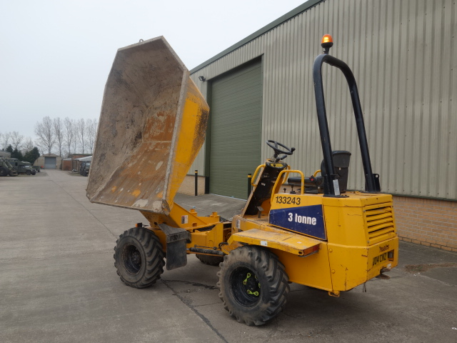 Were sold all Thwaites 3 ton Alldrive swivel dumpers Used ex army truck for sale