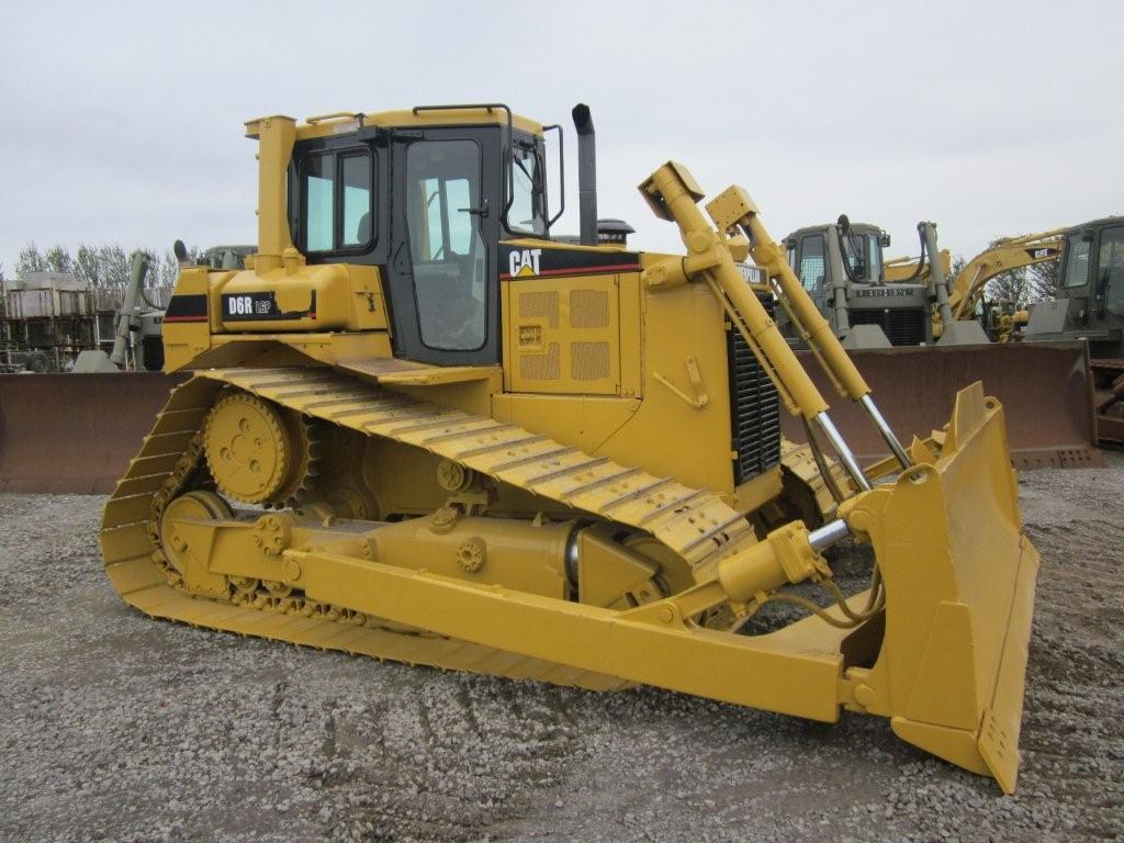 was sold Caterpillar D6R LGP  dozer продано