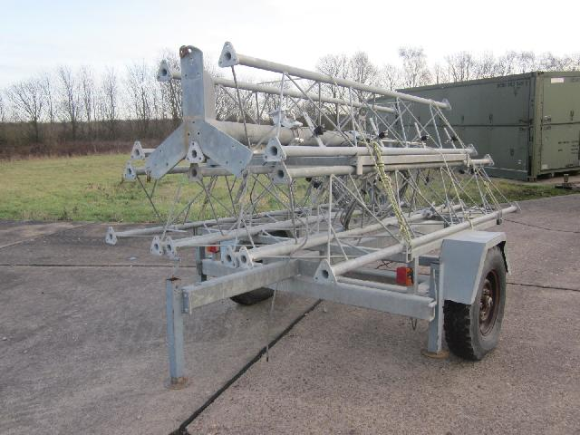 Were sold all Aerial  masts mounted on fast tow trailers Used ex army truck for sale