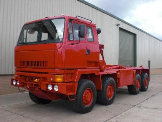 Was sold Leyland DAF 8x6  lube/service truck & hook lift system Used ex army truck for sale