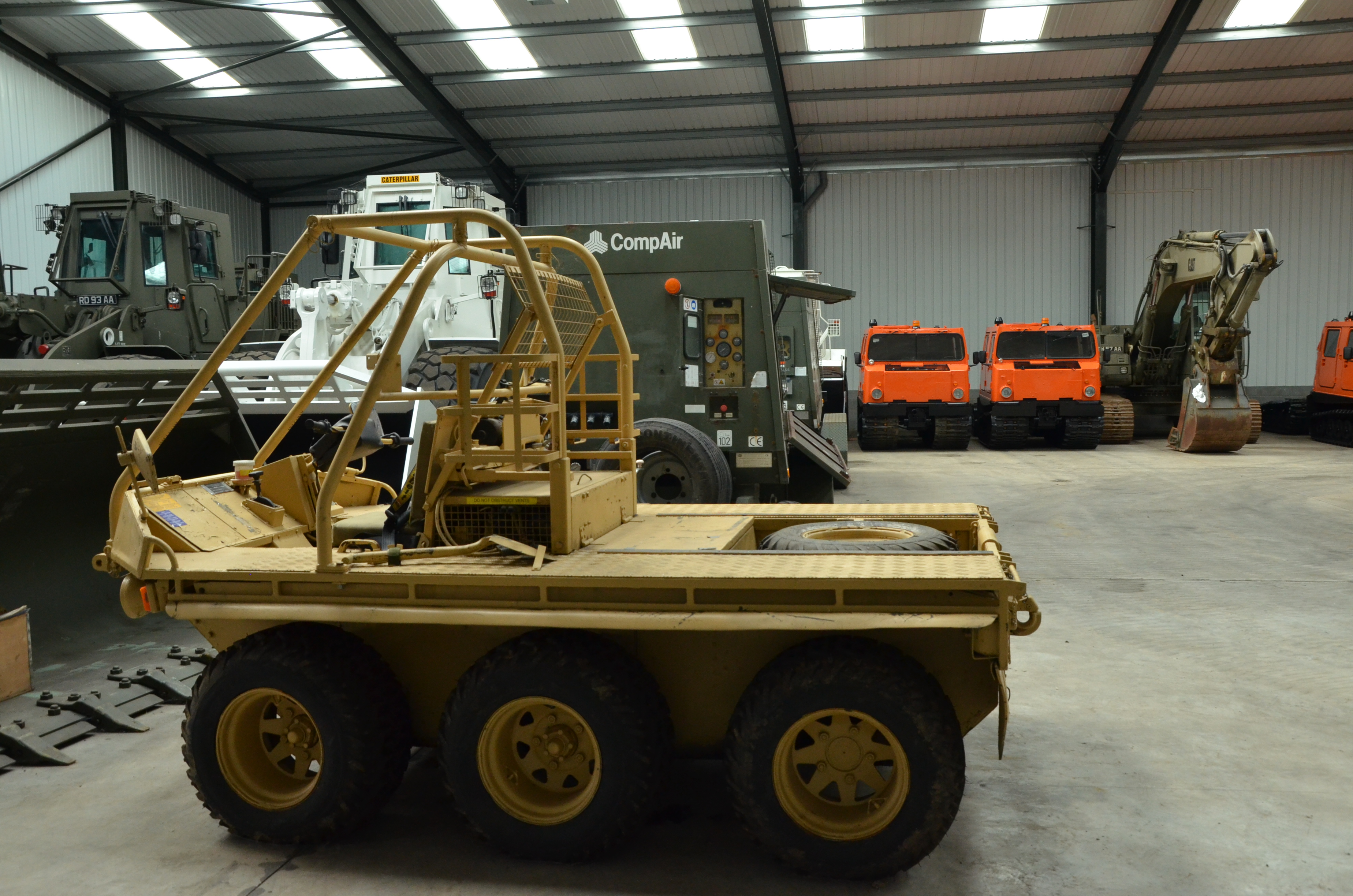 Was sold the Alvis Supacat 6x6 used Military trucks for sale in