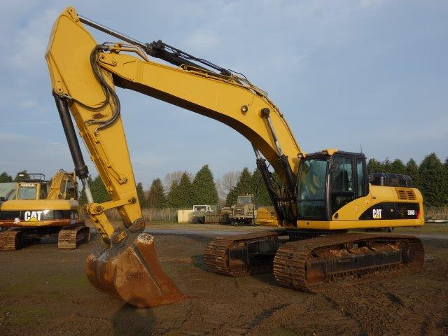 Was sold Caterpillar 336DL  tracked excavator Used ex army truck for sale