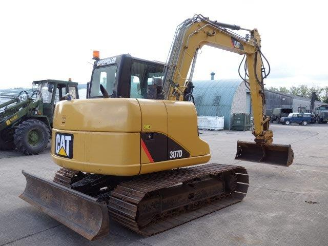 Was sold Caterpillar 307 D excavator 2010 Used ex army truck for sale