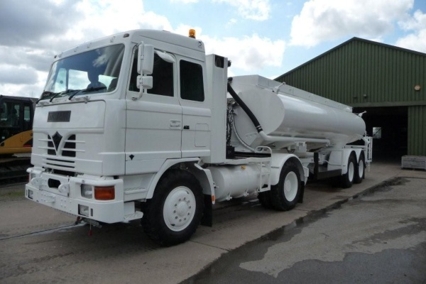 Foden 8x6 MWAD Dust Suppression Unit Used ex army truck for sale