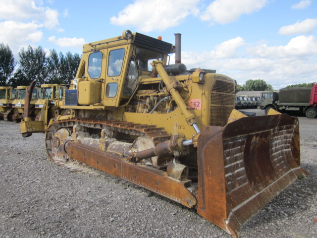 Was sold Caterpillar D8K dozer Used ex army truck for sale